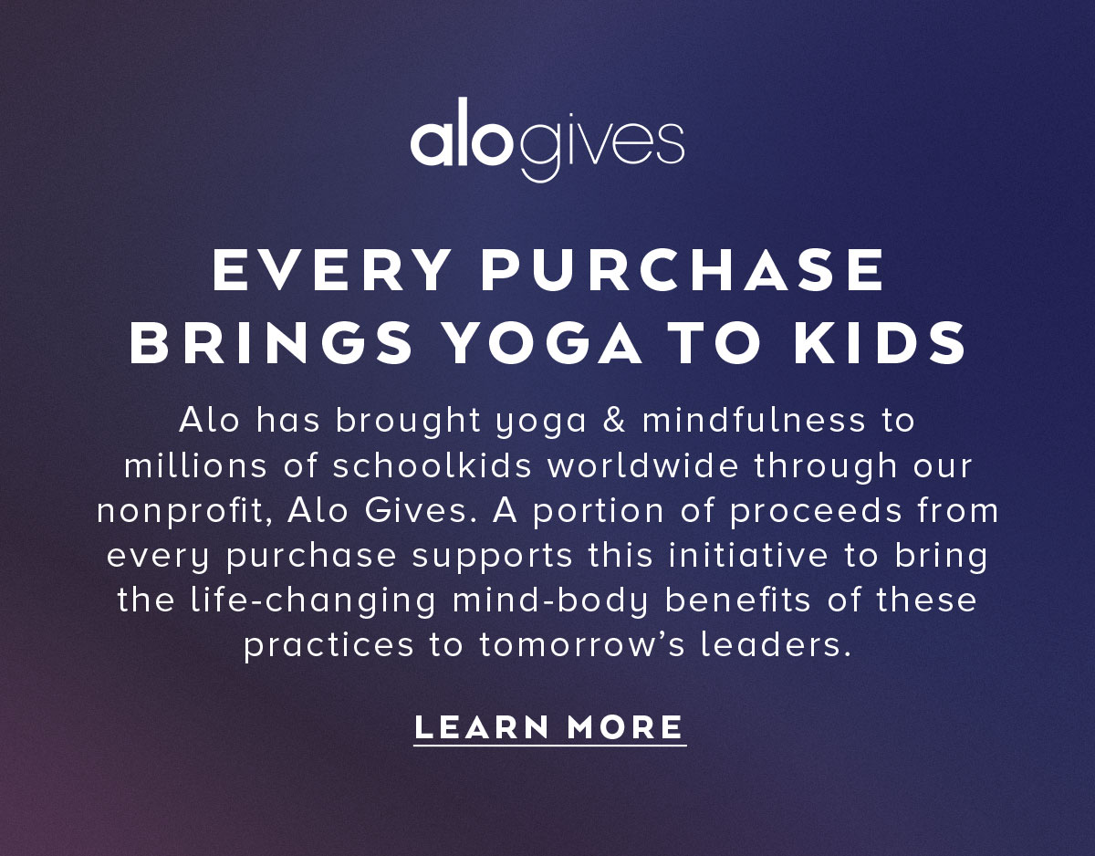 EVERY PURCHASE BRINGS YOGA TO KIDS