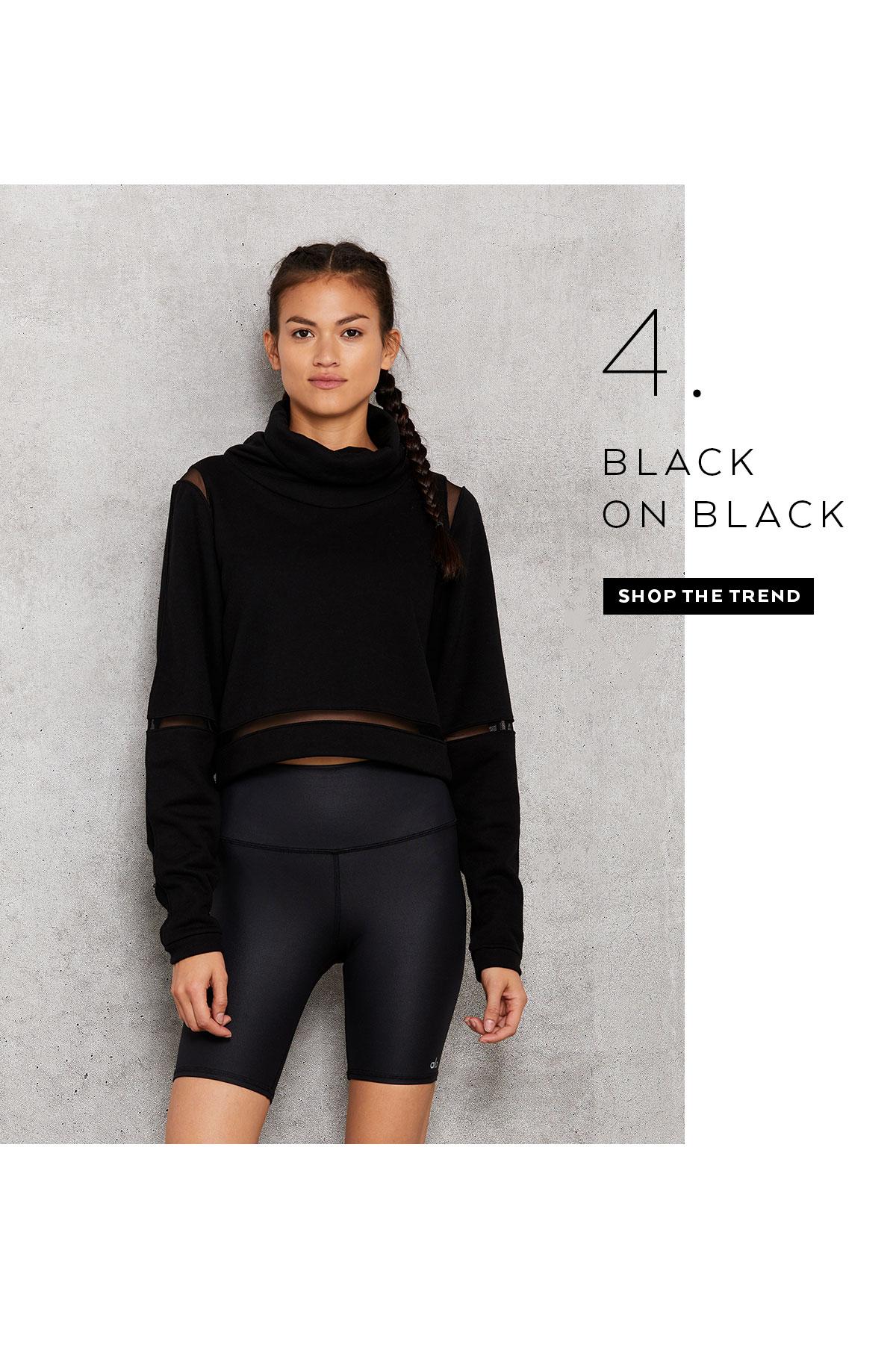 BLACK ON BLACK - SHOP NOW