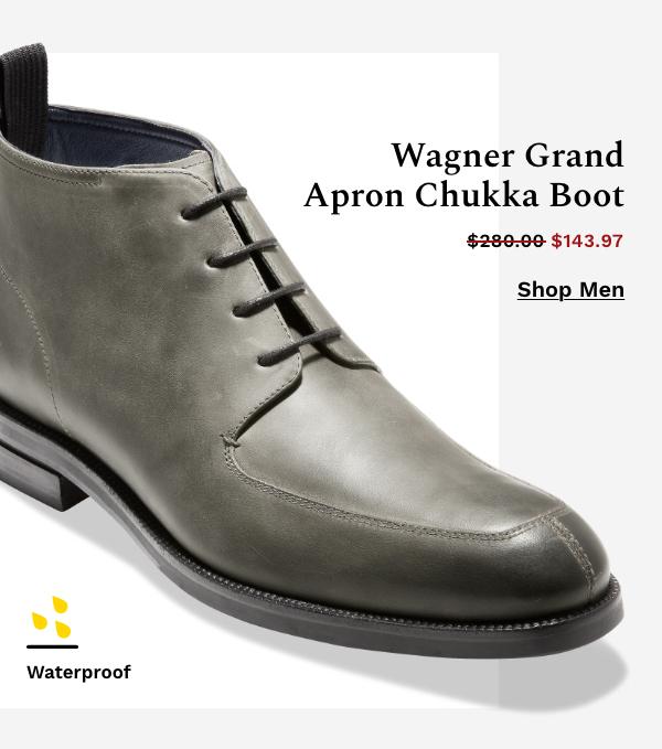 Wagner Grand Apron Chukka Boot