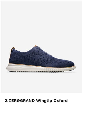 Shop 2.ZG Wingtip Oxford in Navy