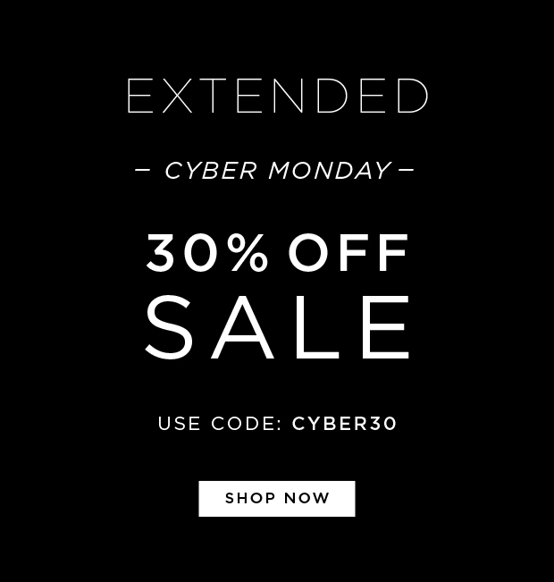 EXTENDED - Cyber Monday - 30% OFF SALE - Use Code: CYBER30
