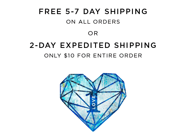 Free 5-7 Day Shipping