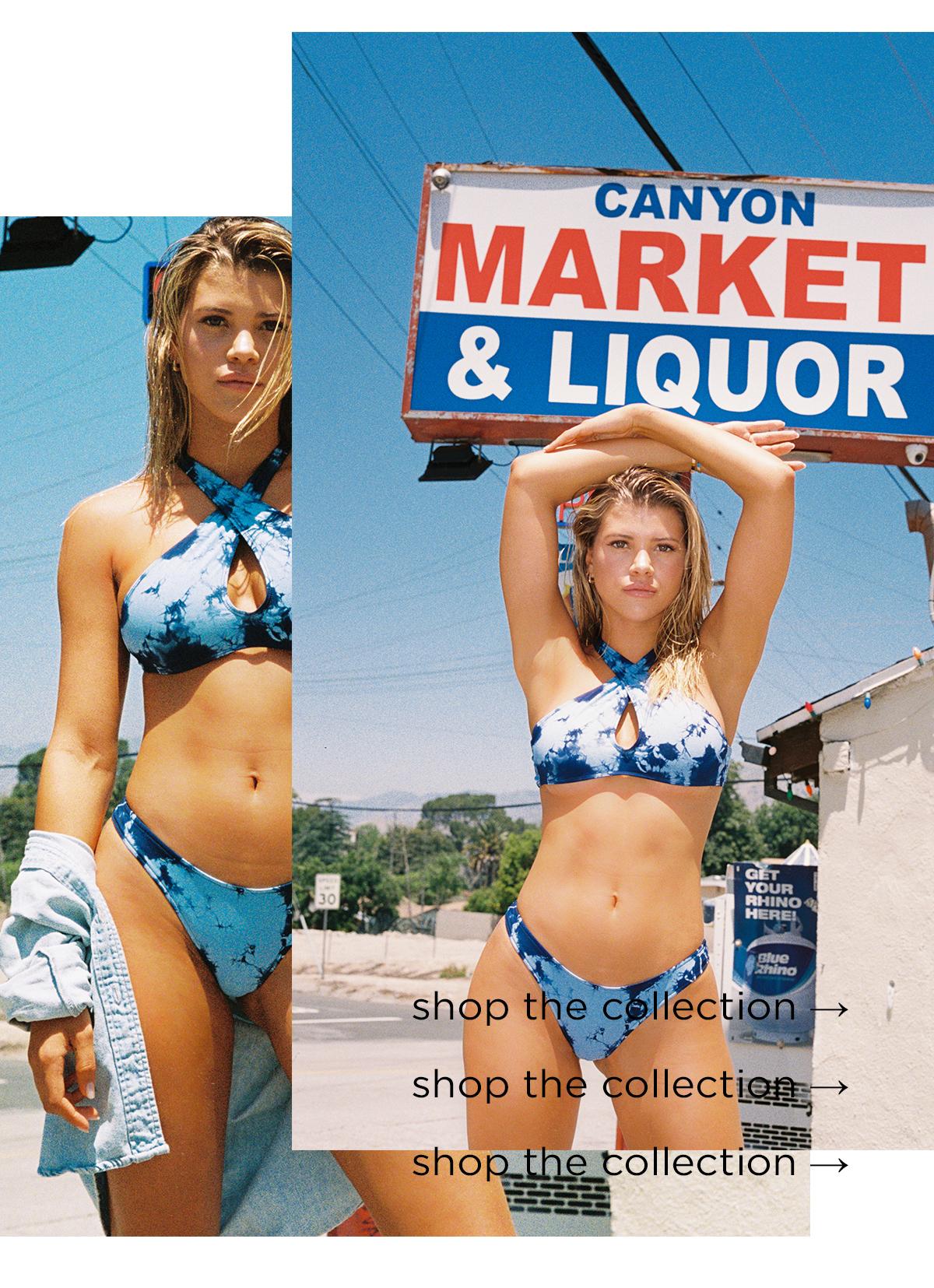 frankies bikinis sofia richie swimwear tie dye bikini