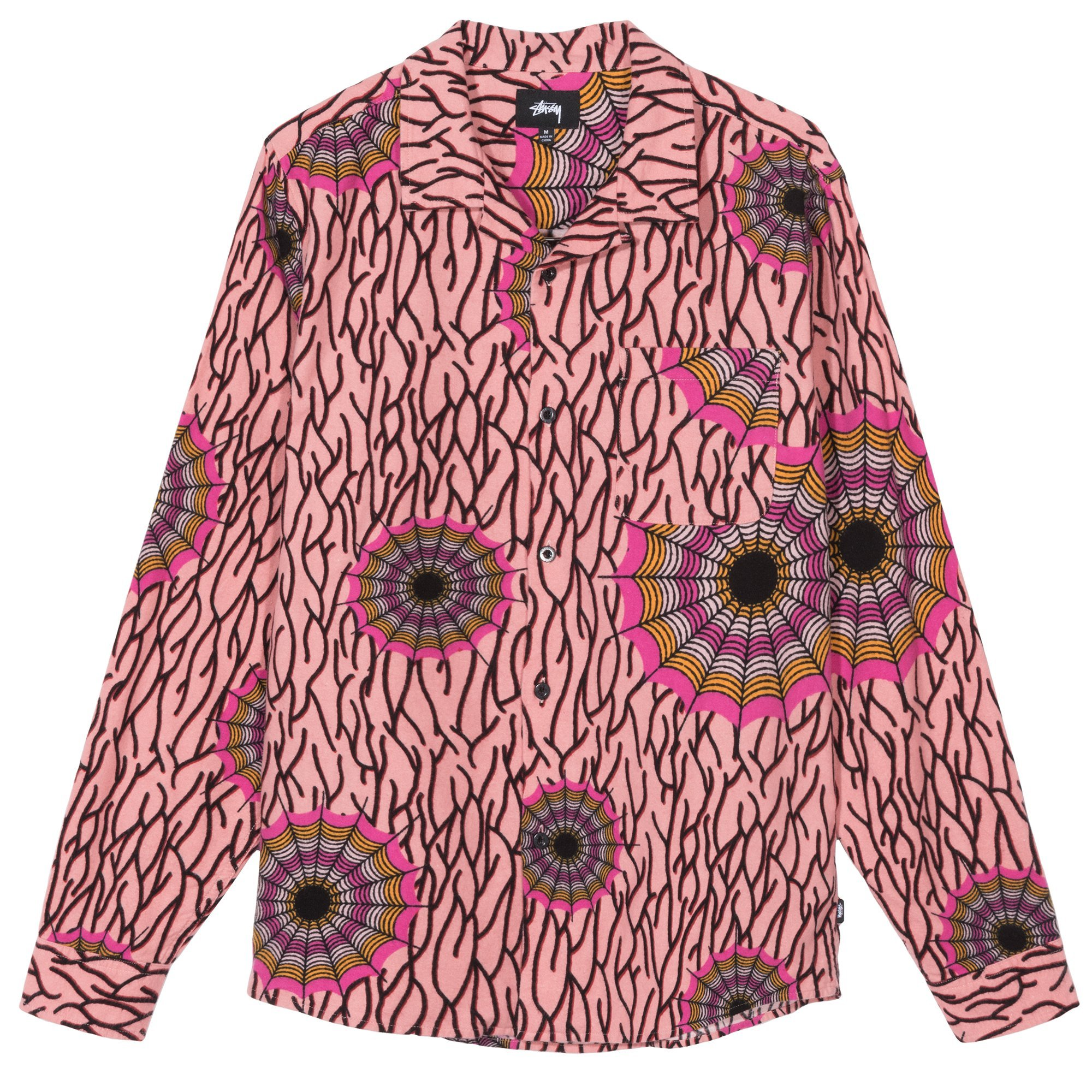 Image of SPIDER WEB FLANNEL SHIRT