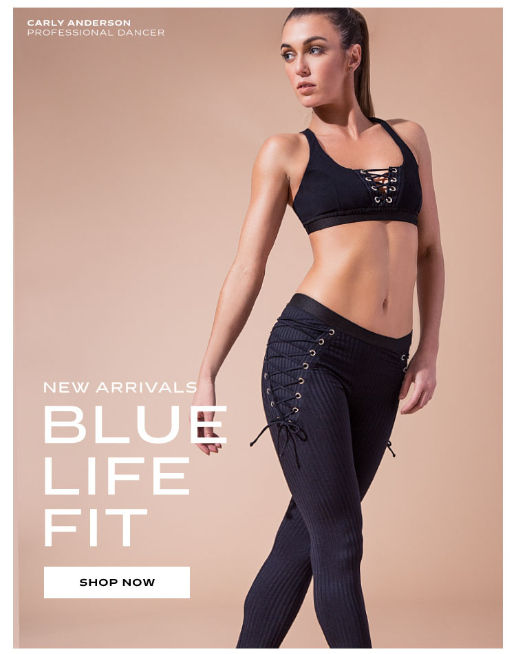 New on C38: Blue Life Fit