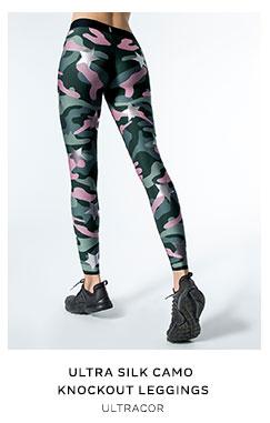 Ultra Silk Camo Knockout Leggings