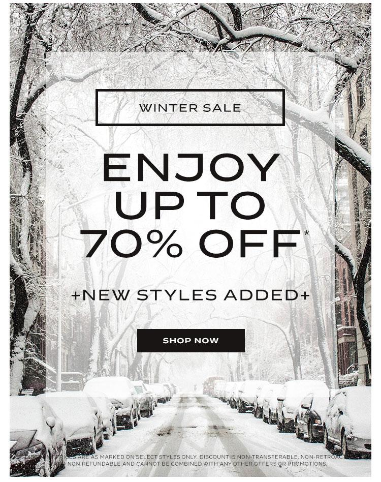 C38's Winter Sale