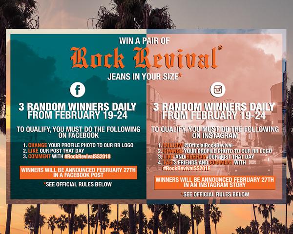 Rock Revival - Don't miss #RockRevivalSS2018 – Our Contest