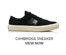 CAMBRIDGE SNEAKER. VIEW NOW.