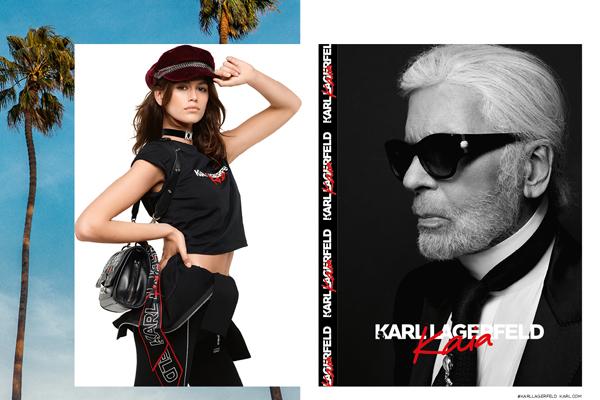 Karl x Kaia Gerber