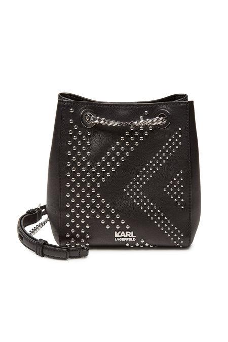 Karl x Kaia Gerber Rocky Leather Bucket Bag | KARL X KAIA GERBER