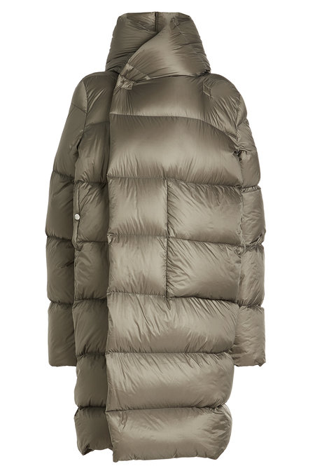Quilted Coat with Hood | RICK OWENS