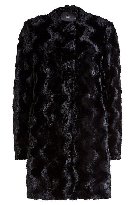 Faux Fur Coat | STEFFEN SCHRAUT