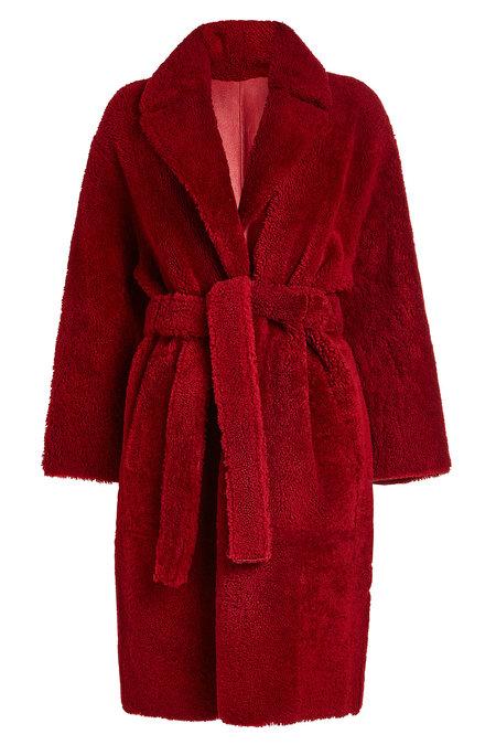 Shearling Coat | YVES SALOMON