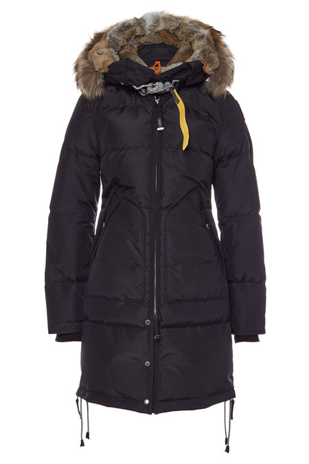 Long Bear Down Parka with Fur-Trimmed Hood | PARAJUMPERS