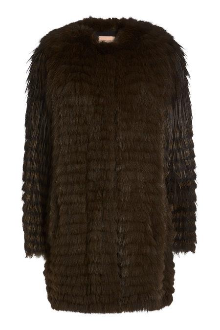 Fox Fur Coat | YVES SALOMON