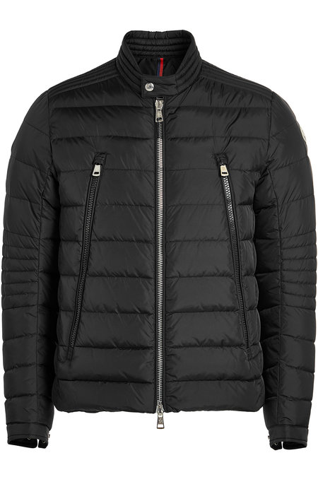 Amiot Quilted Down Biker Jacket | MONCLER