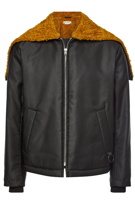 Jacket with Faux Shearling | MARNI