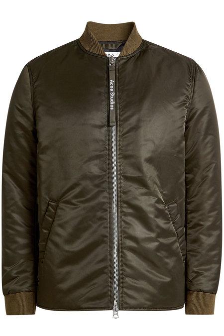 Zipped Satin Jacket | ACNE STUDIOS