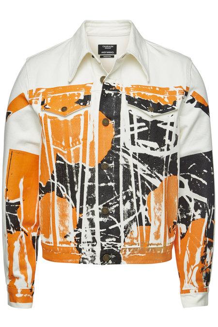 x Andy Warhol Printed Denim Jacket | CALVIN KLEIN 205W39NYC