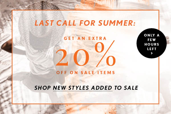 Extra 20% on Sale