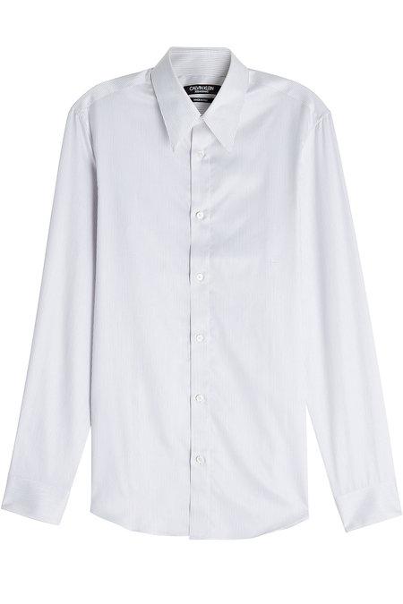 Striped Cotton Shirt | CALVIN KLEIN 205W39NYC