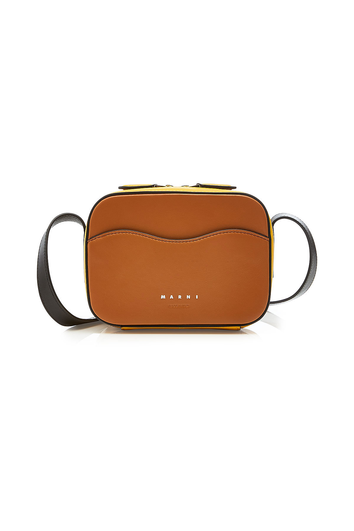 Shell Crossbody Leather Bag | MARNI