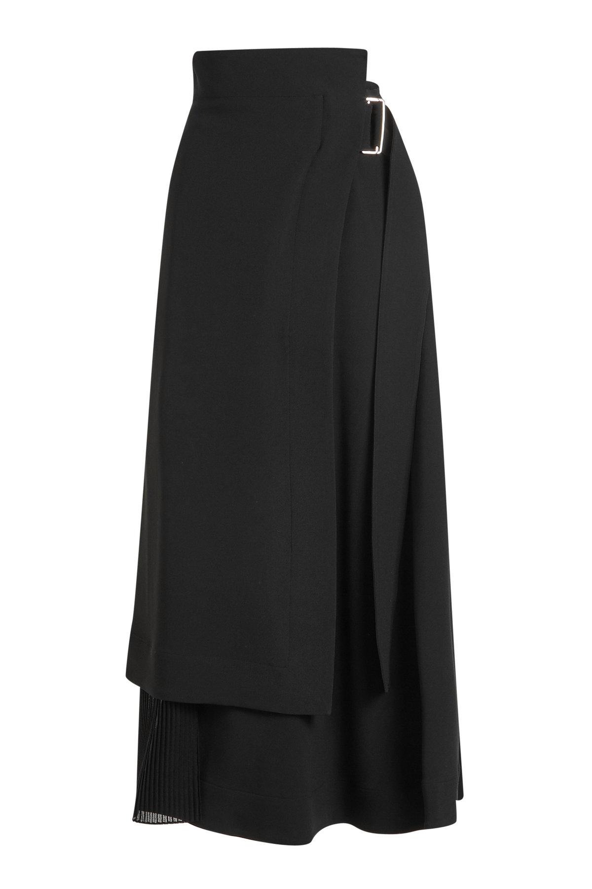 Wrap Midi Skirt | VICTORIA BECKHAM