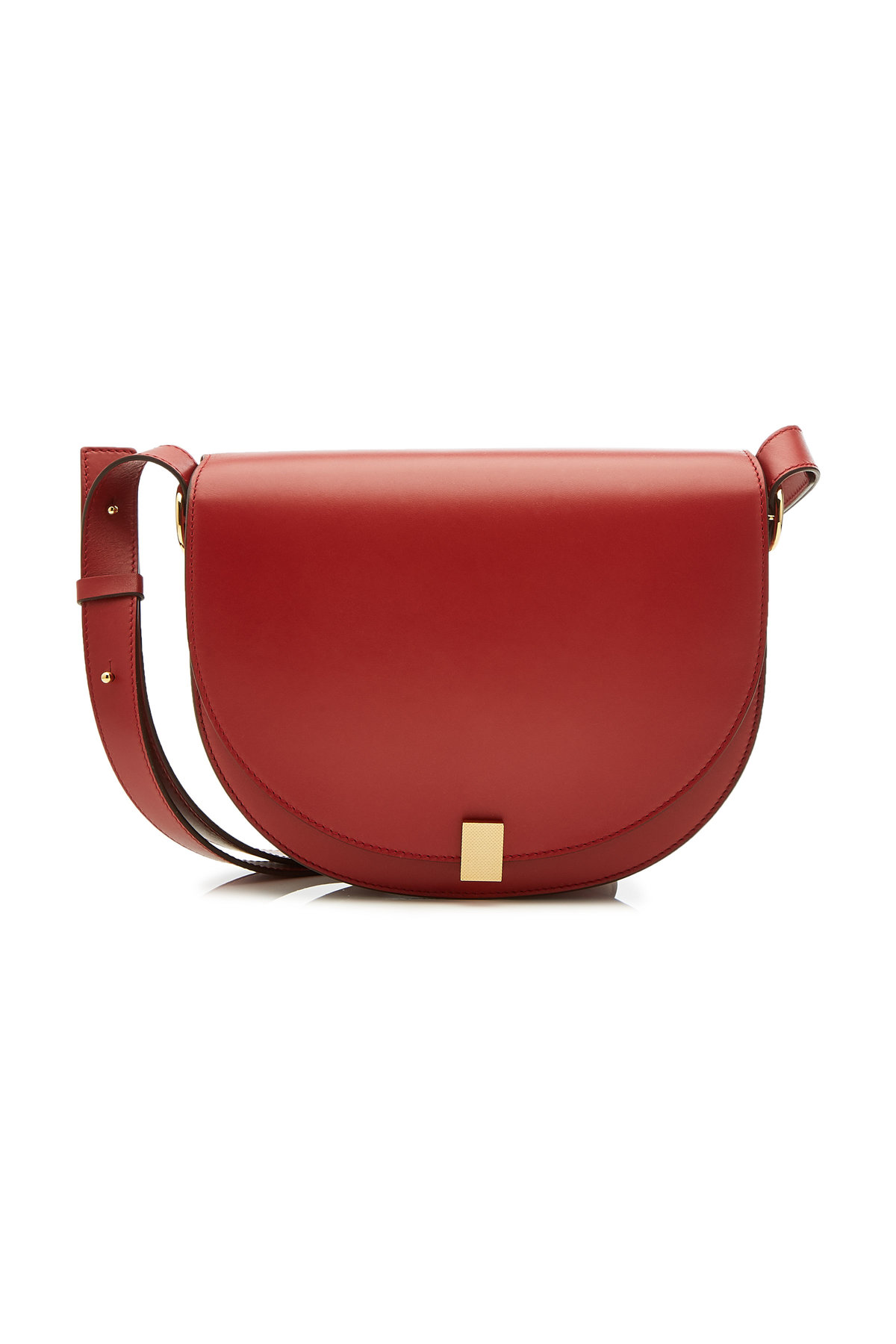 Half Moon Leather Shoulder Bag | VICTORIA BECKHAM