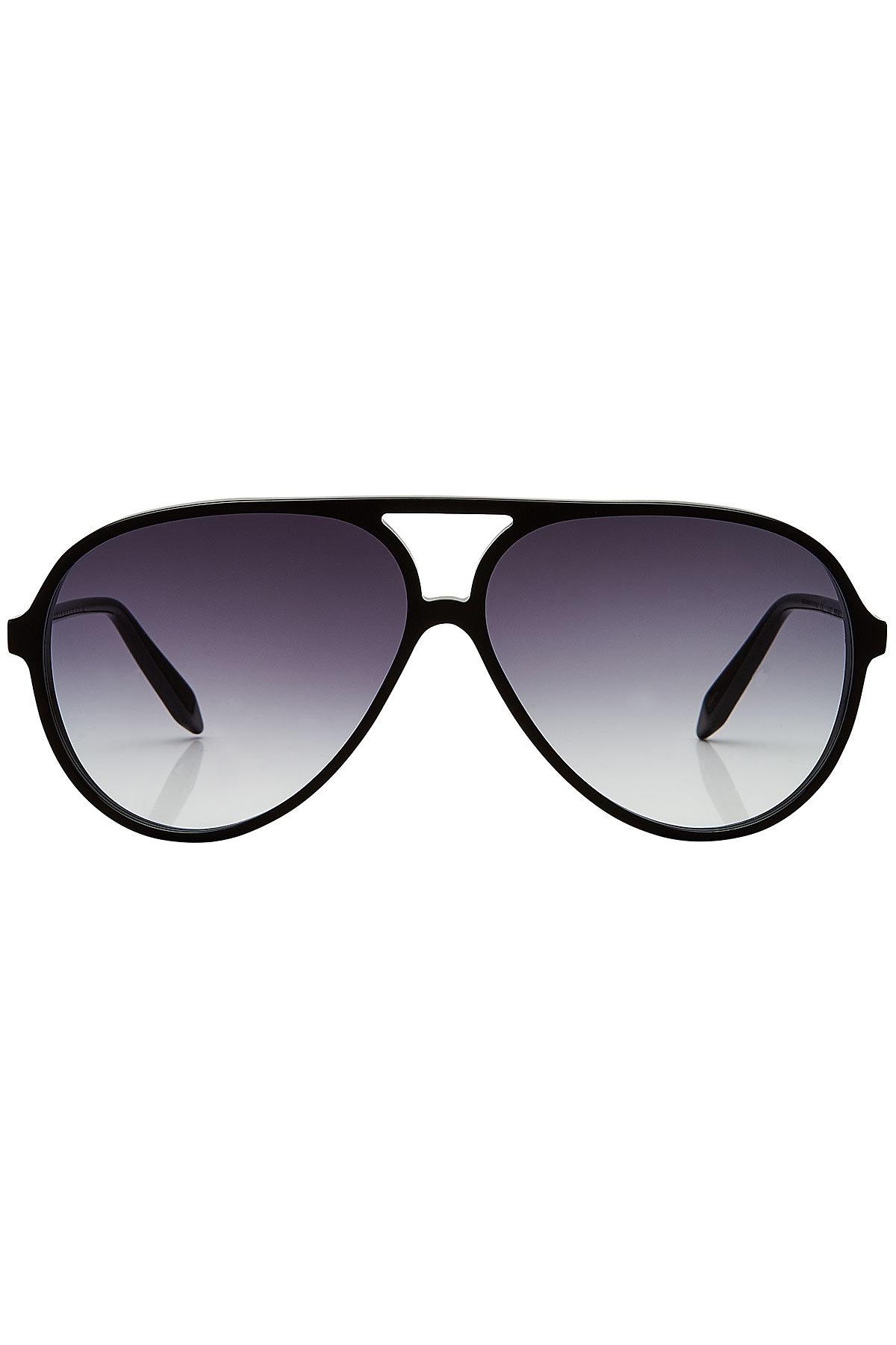 Fine Aviator Sunglasses | VICTORIA BECKHAM