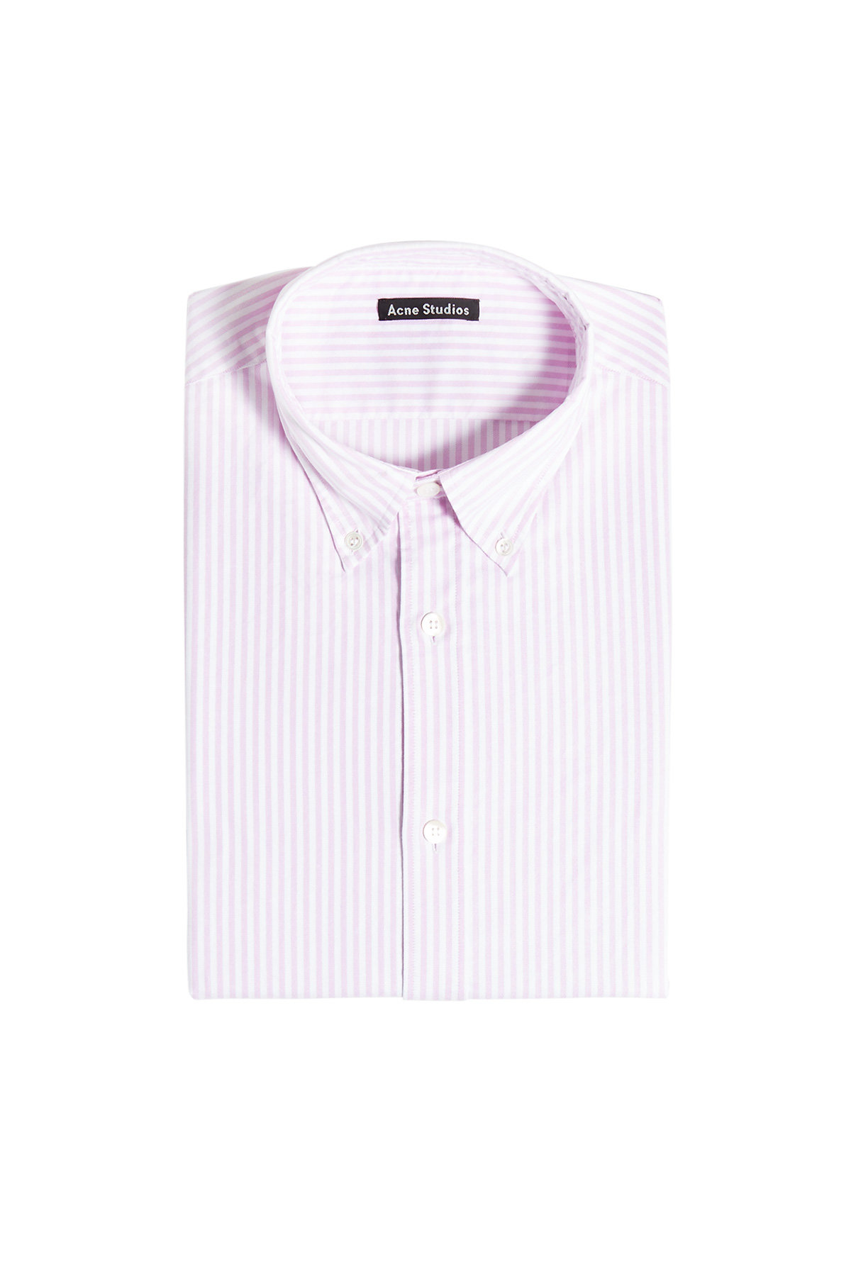 Ohio Face Striped Cotton Shirt | ACNE STUDIOS
