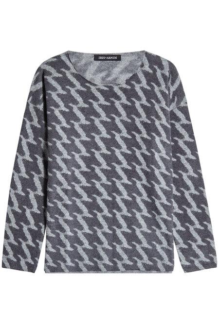Vail Printed Cashmere Pullover | IRIS VON ARNIM