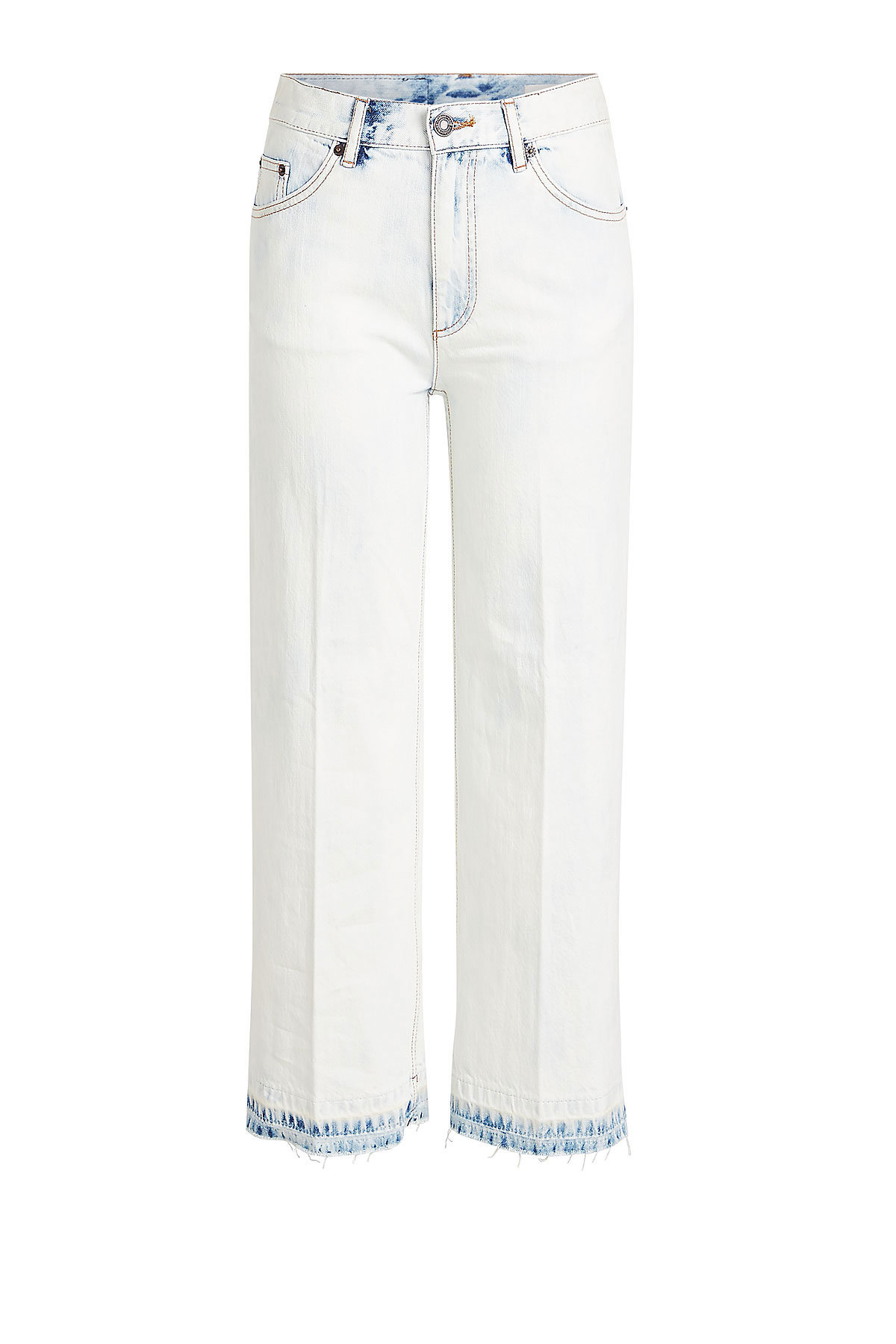 Wide Leg Cropped Jeans | MARC JACOBS