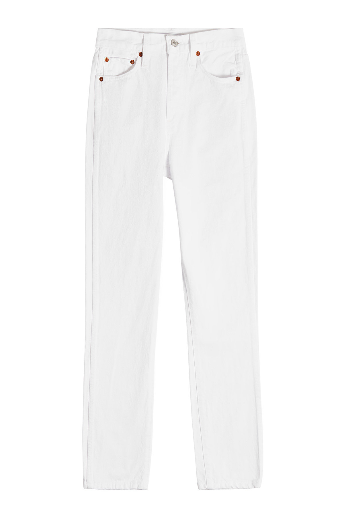 Double Needle Cropped Jeans | RE/DONE