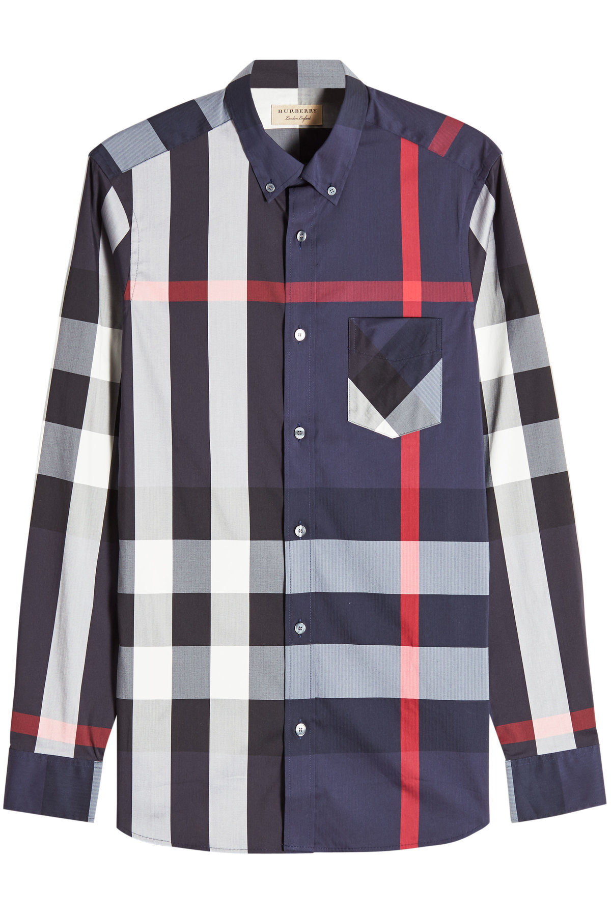 Thornaby Printed Shirt with Cotton | BURBERRY