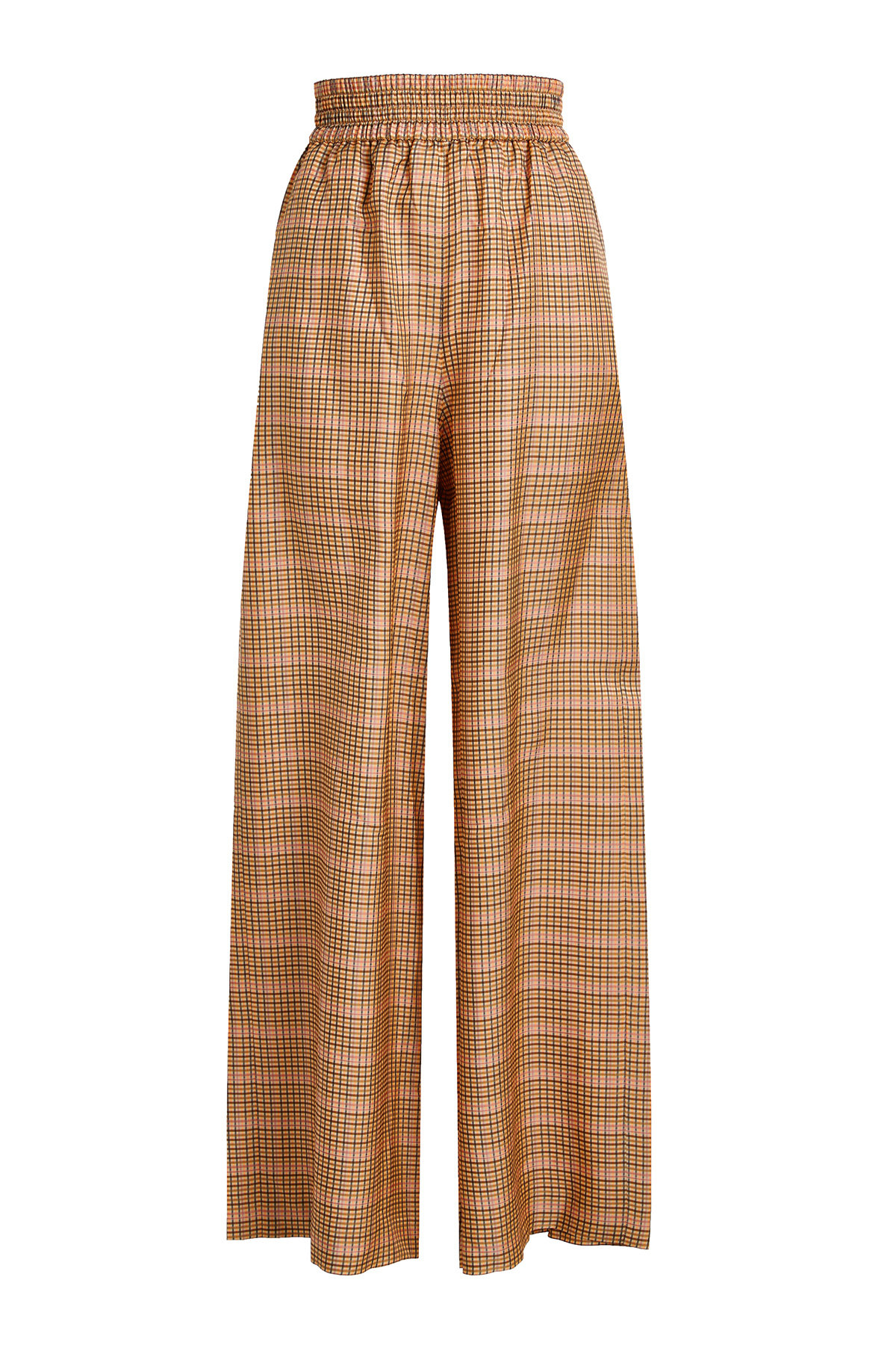Sophie Wide-Leg Checked Pants | GOLDEN GOOSE DELUXE BRAND