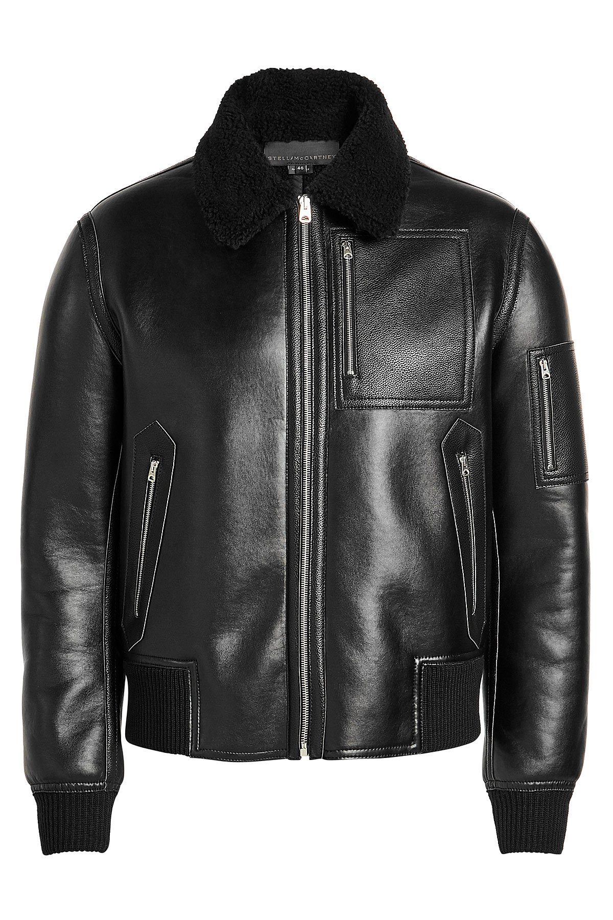 Liam Faux Leather Jacket | STELLA MCCARTNEY