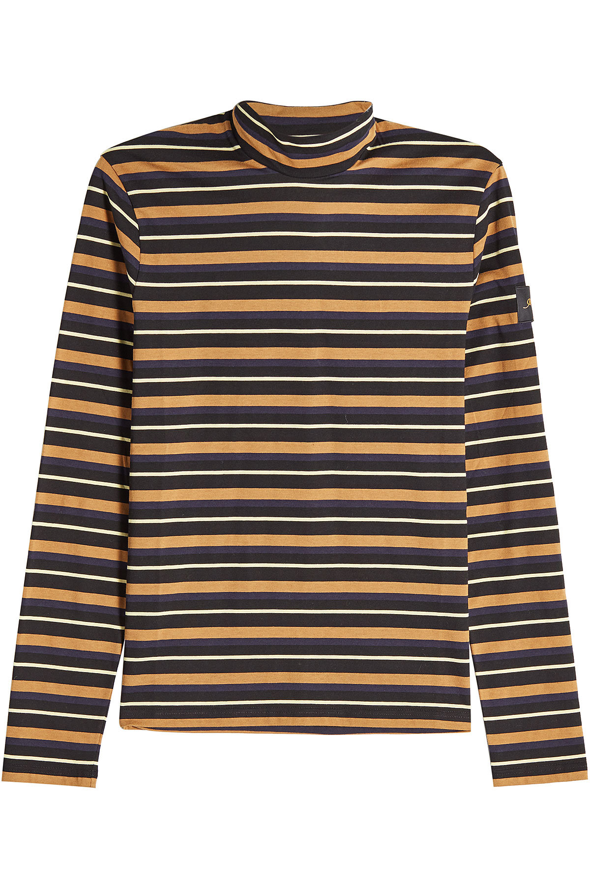 Striped Cotton Turtleneck Top | STELLA MCCARTNEY