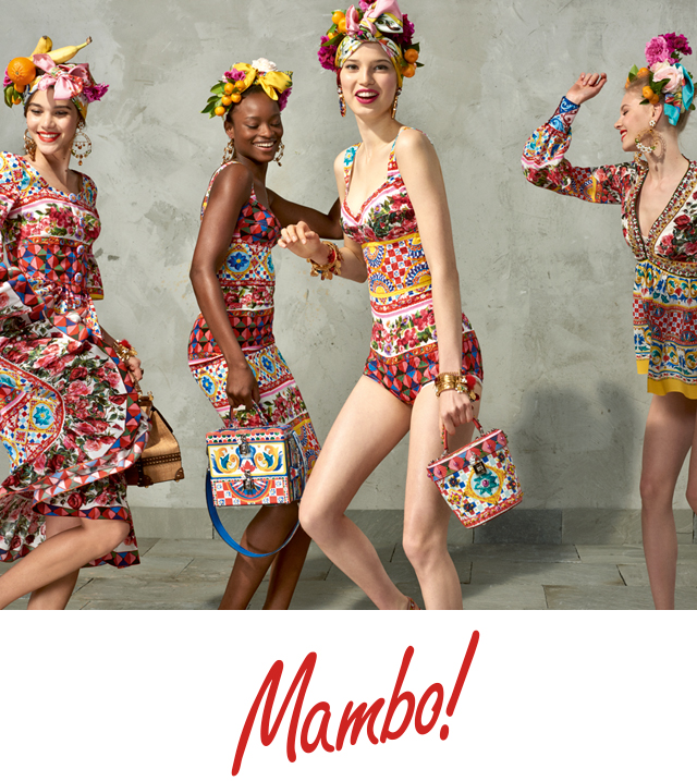 3c4d4fbb22a Dolce   Gabbana - Discover the new Mambo Collection for Spring
