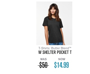 Women's Shelter Pocket T