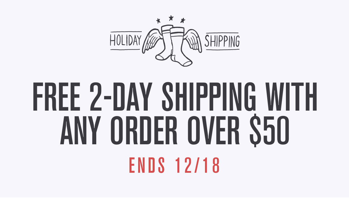 Free 2-Day Shipping Over $50