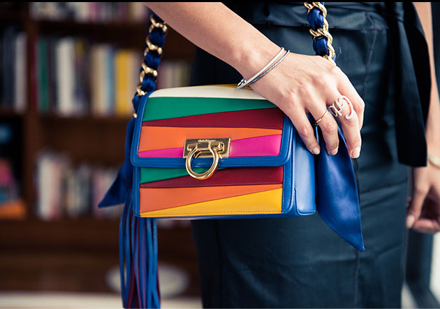 Коллекция женкских сумок феррогамма