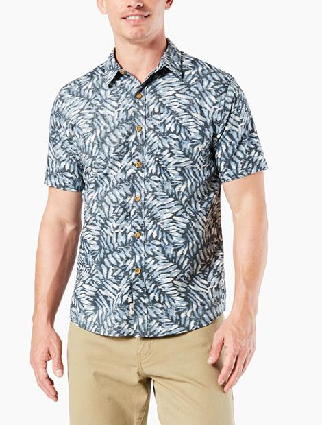 Resort Button‑Up Shirt