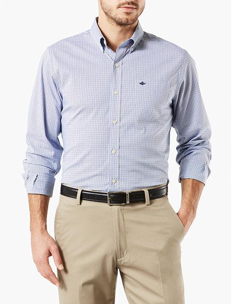 Signature Comfort Flex,Button Down Shirt