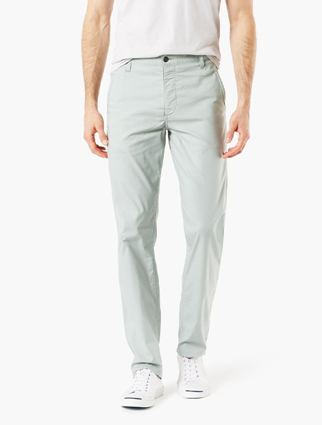 Alpha Khaki Duraflex Lite Pants,Slim