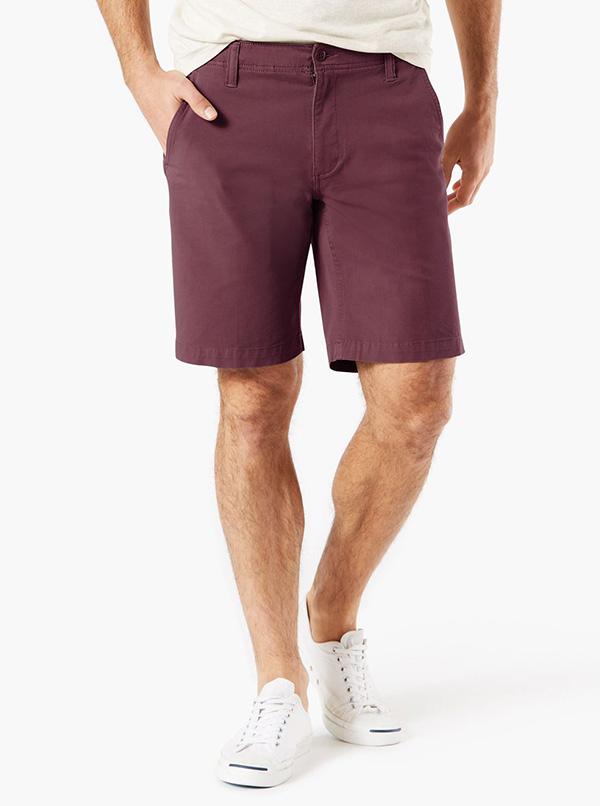 Smart 360 Flex™ Shorts, Straight Fit Fig Purple