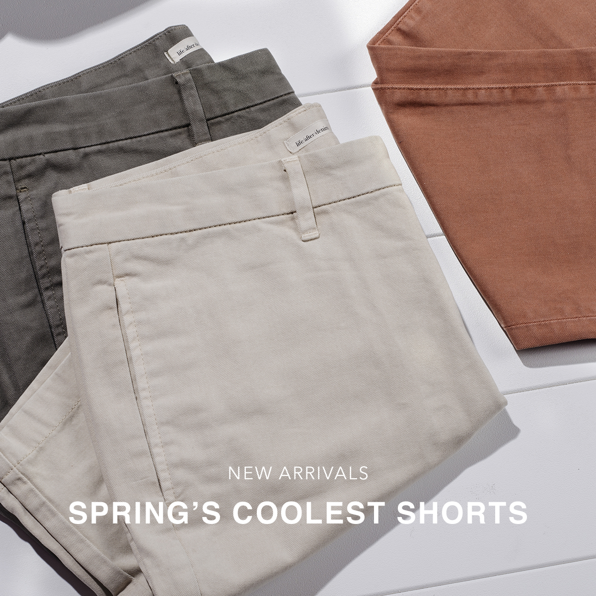 New Arrivals: Spring's Coolest Shorts