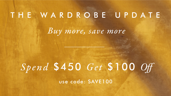 Spend $450 Get $100 Off | Use Code: SAVE100
