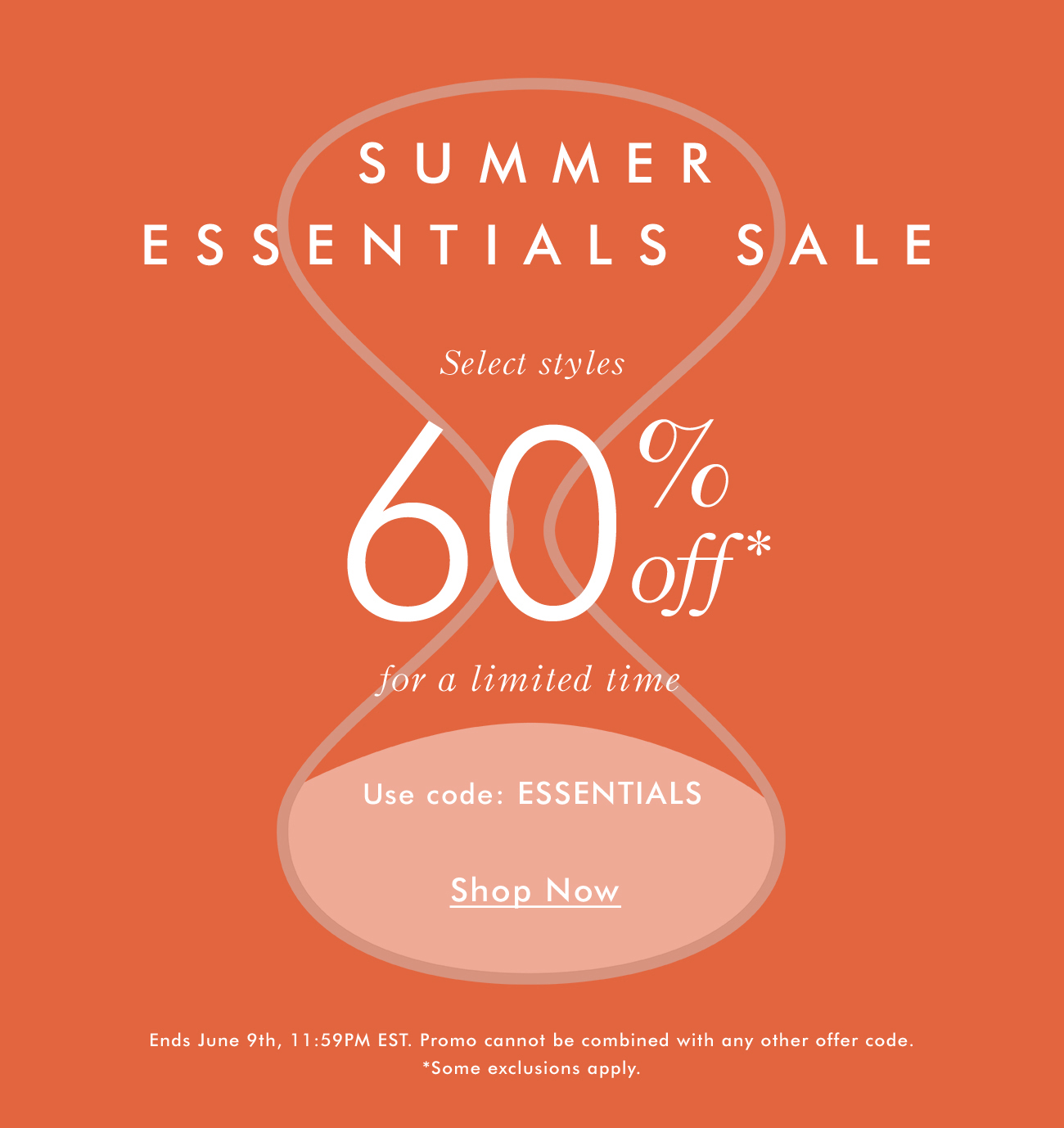 Summer Essentials Sale