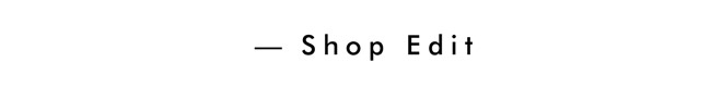 Shop Edit
